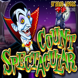 Halloween Freeroll Slots Tournament at Grande Vegas Casino Features Count Spectacular Slot