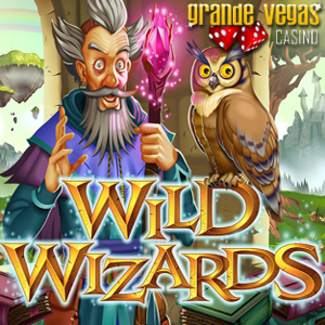Bonus and Free Spins to Try New Wild Wizards Slot at Grande Vegas