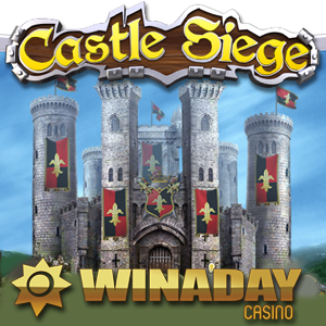 Castle Siege Slot is WinADay's Best Game Yet — Bonuses Now Available