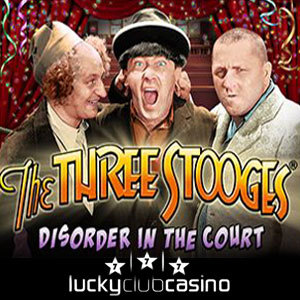 Claim a Bonus up to $222 for New Three Stooges Slot at Lucky Club