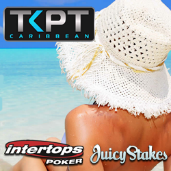 TKPT St Maarten Online Satellite have Begun at Intertops and Juicy Stakes