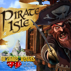 Get a $125 Bonus When you Try RTG's New Pirate Isle Slot at Grande Vegas