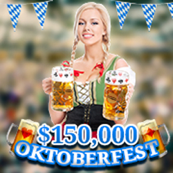 $30,000 in Weekly Oktoberfest Casino Bonuses