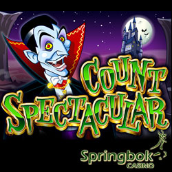 Play Count Spectacular at Springbok for Bonuses, Free Spins & Double Comps