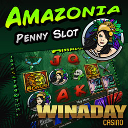 New Amazonia Penny Slot Launches with $8 Freebie