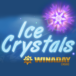New 'Ice Crystals' is a Premium Slot with High Paying Features — $19 Freebie this Week