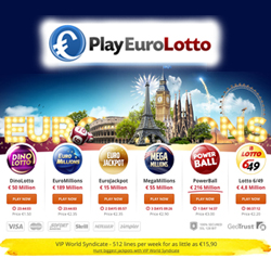 Win €50m with a free lottery ticket from PlayEuroLotto