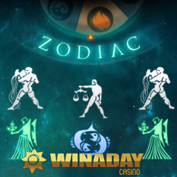 $150 Free Chip to Try New Zodiac Slot at WinADay