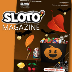 Inspiring Articles, Contests & Bonuses in Fall Issue of Sloto Magazine