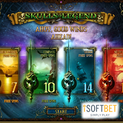 Bag some bounty with new slot Skulls of Legend