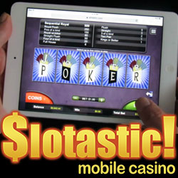 New Mobile Video Poker Games and Mobile Halloween Slot at Slotastic