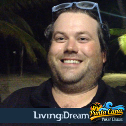 Both Poker Pros & Newbies at Punta Cana Poker Classic Beach Party