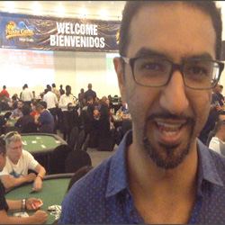 Faraz Jaka Needs Beach Time at Punta Cana Poker Classic