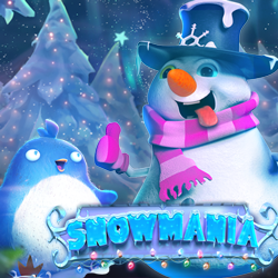 Snowmania Christmas Slot from RTG Now at Slotastic — Get up to 90 Free Spins