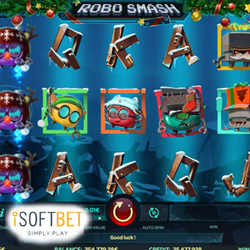 Slot lovers get gift of Robo Smash Xmas