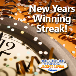 Jackpot Capital Player Starts 2017 with $3000 Winning Streak