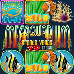 Get up to 50 Free Spins on New Megaquarium Slot at Grande Vegas Casino