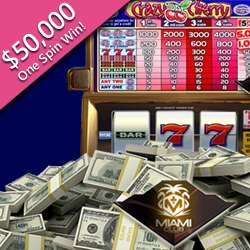 Elderly Slots Player Wins $50,000 on One Spin of 'Crazy Cherry'