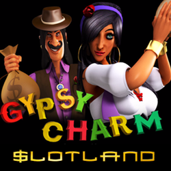 New Gypsy Charm Slot at Slotland — up to $22 Freebie this Weekend!