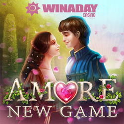 Amore Slot at WinADay Captures Romance of Romeo & Juliet