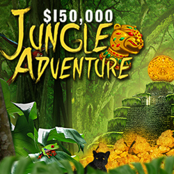 Compete with Other Players for Top Bonuses during $150K Jungle Adventure at Intertops