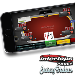 New Real Money Mobile Poker at Intertops and Juicy Stakes — No App Required