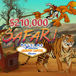 Compete with Other Frequent Players for $210,000 in Safari Casino Bonuses