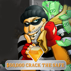 'Crack the Safe' for up to $2000 in Daily Casino Bonuses and Free Spins on Bank Bandit Slot