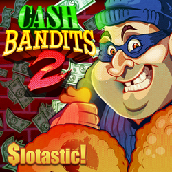 Get 50 Free Spins on New Cash Bandit 2 Slot from Realtime Gaming