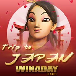 New Trip to Japan Slot at WinADay — Freebies This Weekend!