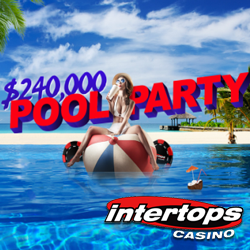 Beat the Heat this Summer at Intertops Casino's $240,000 Pool Party Casino Bonus Event
