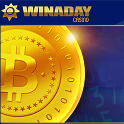 Now You Can Use Bitcoins at WinADay — Introductory Bitcoin Bonuses Now Available