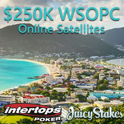 Online Satellites for $250K WSOPC in St Maarten Begin this Week