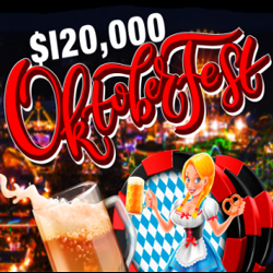 Compete for Top Prizes during $120,000 Oktoberfest Bonus Competition