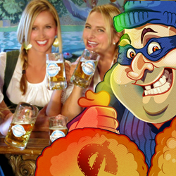 Oktoberfest Casino Bonus includes Free Spins on Cash Bandits 2