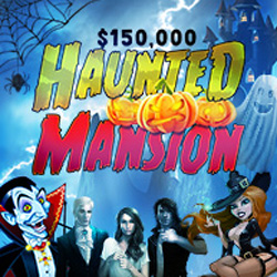 $150,000 Haunted Mansion Bonus Contest at Intertops Poker