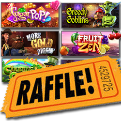 $1000 Raffle Draw this Weekend — Earn Tickets by Playing Featured Slots
