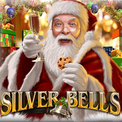 Get 33 Free Spins on New Silver Bells Christmas Slot from Nuworks