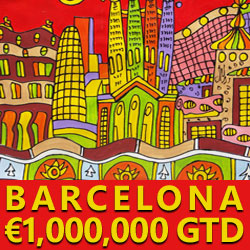 Win Your Way to €10,000,000 GTD Millions Barcelona Tournament