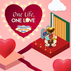 """One Life, One Love"" Reveals Daily Valentines Casino Bonuses at Jackpot Capital"