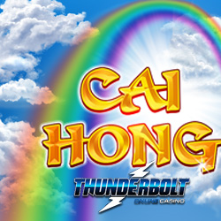 Free Spins on New Cai Hong Slot Start Tomorrow at Thunderbolt Casino