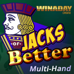 Get a $15 Freebie to Try New Jacks or Better Multi-Hand Video Poker