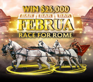 Daily Februa – Race for Rome Championship Through February at Rich Casino Has Some Big Prizes